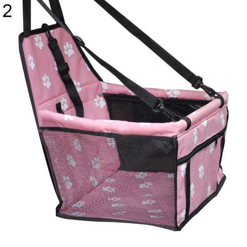 Pet Puppy Dog Carrier Car Seat Dog Mat Car Basket Breathable Waterproof Cage Booster Car Seat Pet Car Seat Bag Pet Products