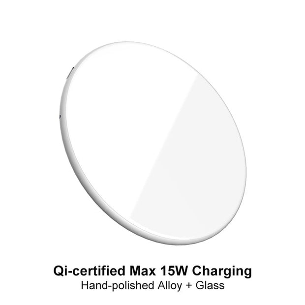 15W QI Quick Charging Wireless Fast Charger usb tpye c QC 3.0 Mobile phone Station For iphone samsung s9 xiaomi SIKAI