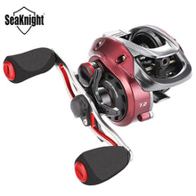 Load image into Gallery viewer, SeaKnight RED FOX 7.2:1 Micro Centrifugal Brake System Baitcasting Reel 192g Ultra-light Fishing Reel Short Shaft Spool 2020 NEW