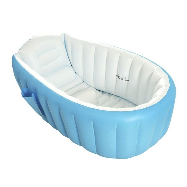 Baby Inflatable Bathtub Kids Anti-slippery Foldable Travel Shower Basin Products Infant Swimming Pool