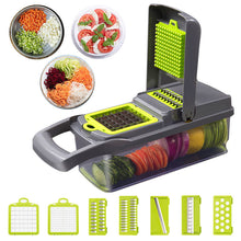 Load image into Gallery viewer, Multifunction Vegetable Cutter Kitchen Gadgets Garlic Press Steel Blade Potato Peeler Carrot Grater Kitchen Accessories