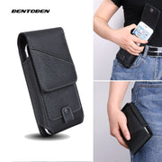 Universal Mobile Phone Waist Bag for Iphone11 XR X XS 6 7 8 Plus PU Leather Belt Clip Phone Cover for Xiaomi Huawei
