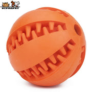 Slow Feeder Dog Toy Cute Funny Rubber Dog Ball Toy for Puppy Interactive Dog Chew Toy Tooth Clean Ball Pet Products