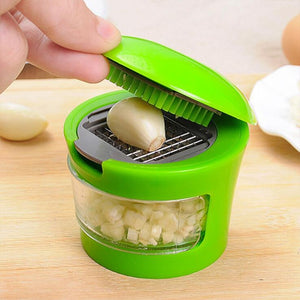 1pcs/lot Stainless Steel Garlic Presses Manual Garlic Mincer  Garlic Tools Kitchen supplies Gadgets Curve presses Fruit Tools