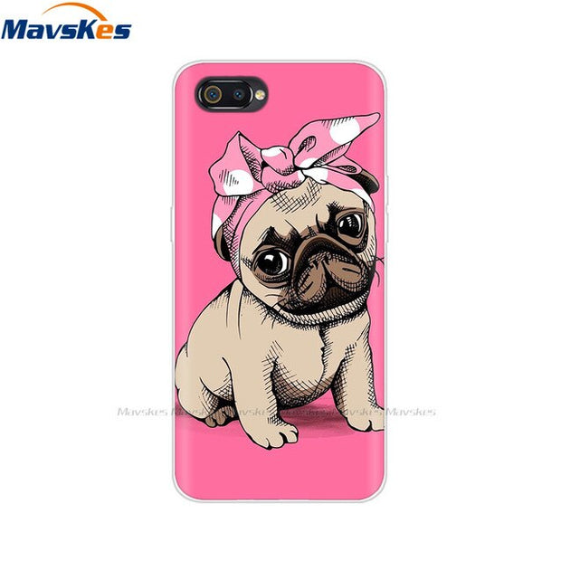 Case Realme C2 Case Soft Silicone Cartoon TPU Cover Bag Phone Case for OPPO Realme C2 RMX1941 C 2 RealmeC2 A1k A1 K Cases