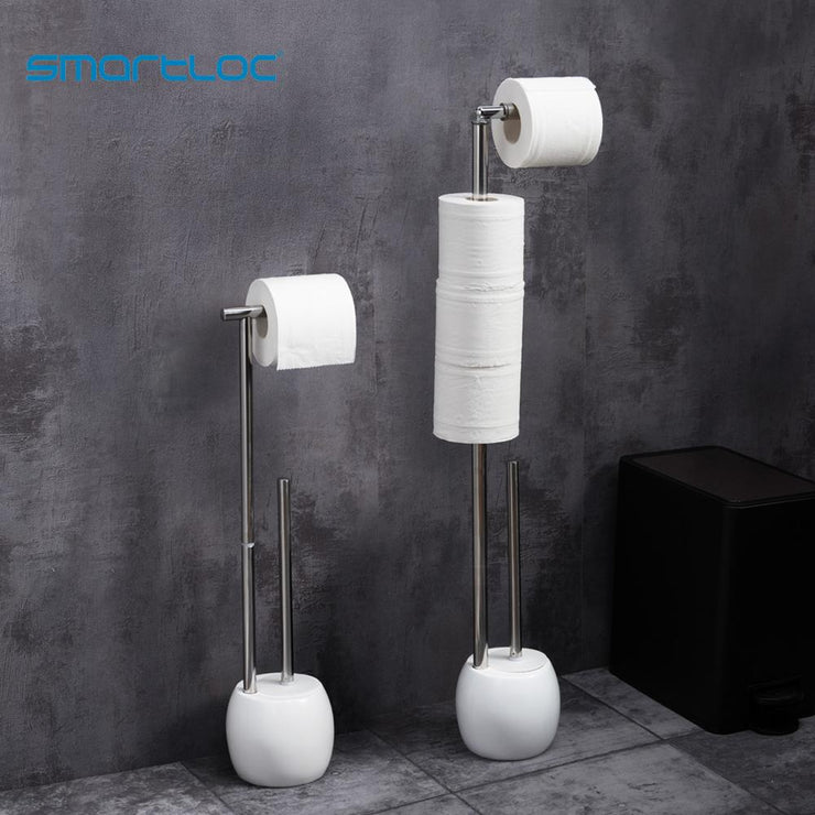 Toilet Paper Holder Tissue Roll Rack Bathroom Storage Container Bath Accessories Toilet Brush