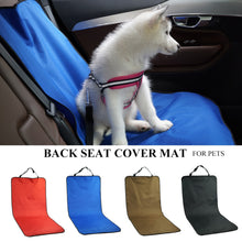 Load image into Gallery viewer, Car Waterproof Back Seat Pet Cover Protector Mat Rear Safety Travel Accessories for Cat Dog Pet Carrier Car Rear Back Seat Mat