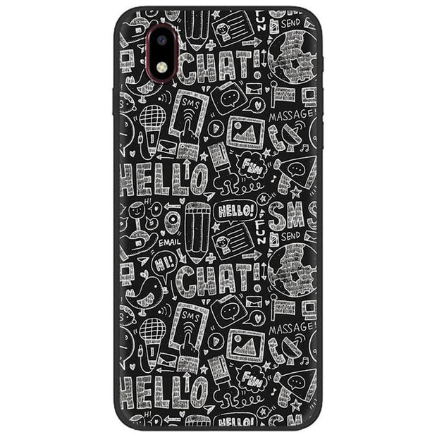 Anti-dust Phone Case For ZTE Blade A3 2020 Frosted Anti-knock Cute Back Cover