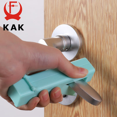 KAK No Touch Open Door Assistant Portable Anti Germ Elevator Button Drawer Door Handle Assistant safety Contactless Tool