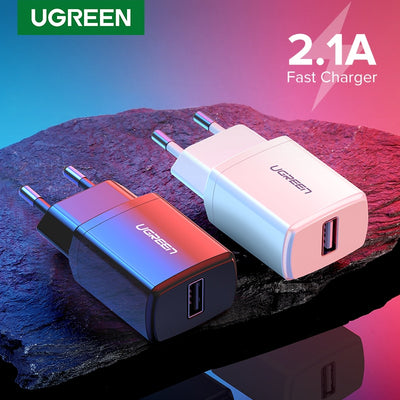 5V 2.1A USB Charger for iPhone X 8 7 iPad Fast Wall Charger EU Adapter for Samsung S9 Xiaomi Mi 8 Mobile Phone Charger