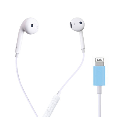 Bluetooth Earphone for Apple IPhone 10 11 Pro X XR XS Max 7 Plus Earbuds with Mic Ear Phone Not Wireless