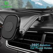 Magnetic Holder for Phone in Car Magnet Foldable Mobile Phone Holder Stand for iPhone Samsung Dashboard Car Mount Holder