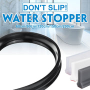 30 mm height Bathroom Water Stopper Water Partition Dry&Wet Separation Flood Barrier Rubber Dam Silicon Water Blocker Don't Slip