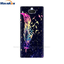 Load image into Gallery viewer, Back Cover For Sony Xperia 10 Plus Case Silicone TSoft PU Phone Cases for For Sony Xperia 10 Painted Cartoon Cute fundas coque