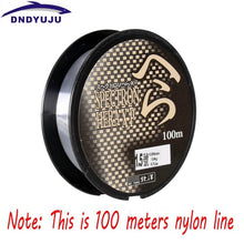 Load image into Gallery viewer, DNDYUJU 500M Nylon Fishing Line Japanese Durable Monofilament Rock Sea Fishing Line Thread Bulk Spool All Size 0.4 To 8.0