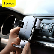 Wireless Car Charger for Mobile Phone Holder Stand Car Air Vent Mount Holder Fast Wireless Charging Car Phone Holder
