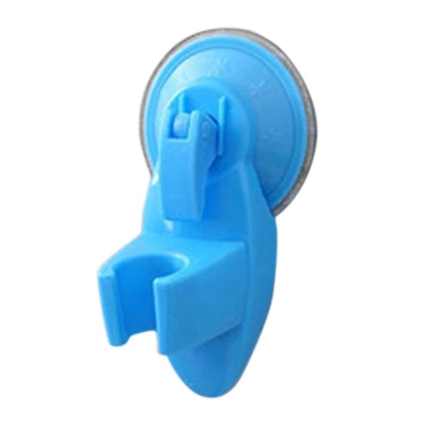 Bathroom Strong Attachable Shower Head Holder Movable Bracket Powerful Suction Shower Seat Chuck Holder Suction Cup Home Improve