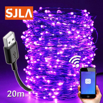 Ultraviolet Led Black Light USB Bulb UV String Lamp DIY Poster Prom Bar Party Dj luorescent Halloween Christmas Birthday