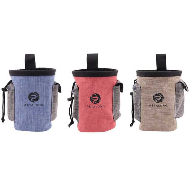Pet Outdoor Food Bag Dog Multifunctional Training Waist Pack Portable Snack Bag Pet Supplies