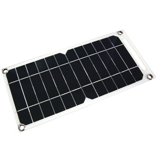 flexible solar panel Flexible USB output for mobile phone USB fan 5V power supply charging products Camping Hiking