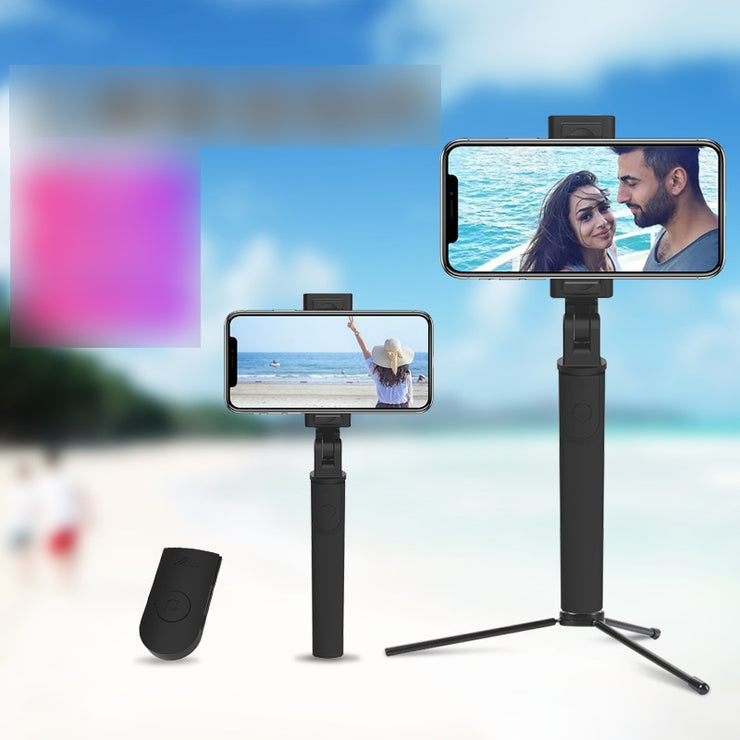 Selfie Stick Universal Mini Wireless Bluetooth Tripod Applicable Mobile Phone Photo Shoot Useful Product Dry Live Holder
