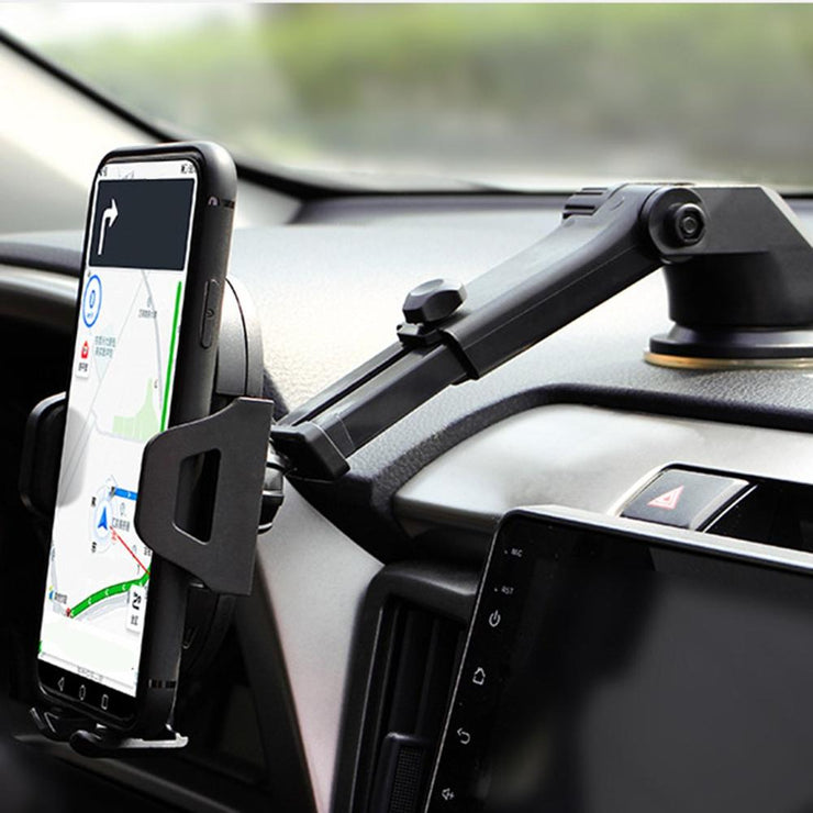Car Wireless Charging Suction Cup Car Black Technology Car Product Suction Cup Outlet Air Navigation Mobile Phone Bracket