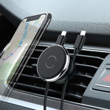 Load image into Gallery viewer, Car Phone Holder Car Air Vent Mount Stand Magnetic Mobile Holder For Phone Automotive Interior Products