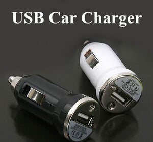 2 pieces USB Car charger adapter cigarette lighter for iphone 5S samsung S5 and all mobile phones electronic products