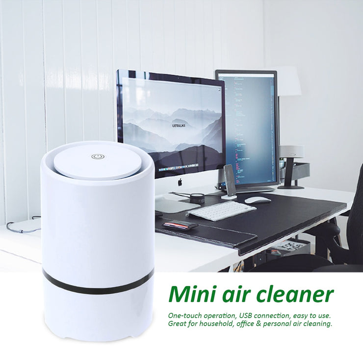 Air Aroma Humidifier Mini Air Lonizer Purifier Cleaner USB Electric Aromatherapy Freshener Machine with Filter Home Decoration