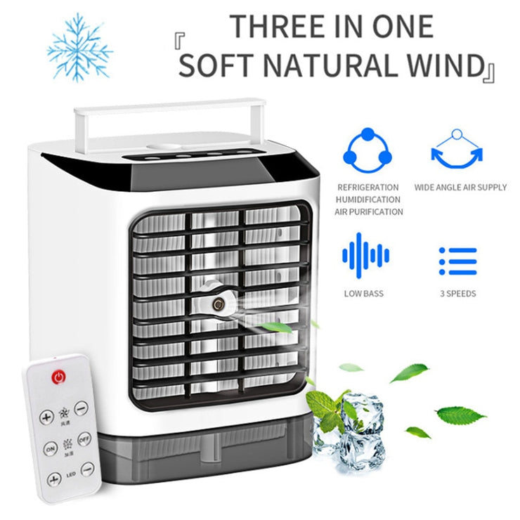 Portable Mini Air Conditioner Cool Cooling Bedroom Personal Artic Cooler Fan Air-conditioning Fan Water-conditioning Mobile
