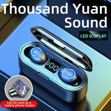 Load image into Gallery viewer, Bluetooth 5.0 Earphones Wireless Headphones 9D Hifi Stereo Sports Waterproof Wireless Earphone Headset  With Microphone