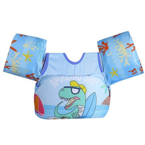 Kids Float Pool Baby Swimming Ring Arm Buoyancy Vest Life Jackets Foam Lifebuoy Party Toys Floating Swim Safety Training Gear