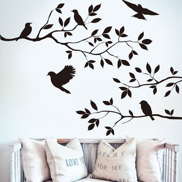 Wall Sticker DIY Vinyl Art Decals Living Room Removable Art Mural Home Decoration Product Sticker QB602661
