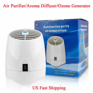 Home Office Ozone Air Purifier Formaldehyde Removing Car Deodorization Air Ionizer Rechargeable Ozone Prevent Germs