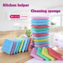 Load image into Gallery viewer, 1Pack Scrub Wash Clean Block Wipe Pot No Oil Dishcloth Water Uptake Kitchen cloths brushes melamine magic sponge eponge magique