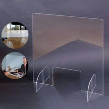 Load image into Gallery viewer, Sneeze Guard Shield Clear Perfection Reception Side Sale Counter Sprayed UV Cut Height Protection Screen Isolation Plate