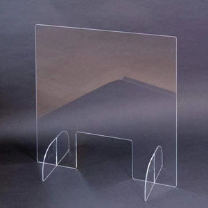 Sneeze Guard Shield Clear Perfection Reception Side Sale Counter Sprayed UV Cut Height Protection Screen Isolation Plate