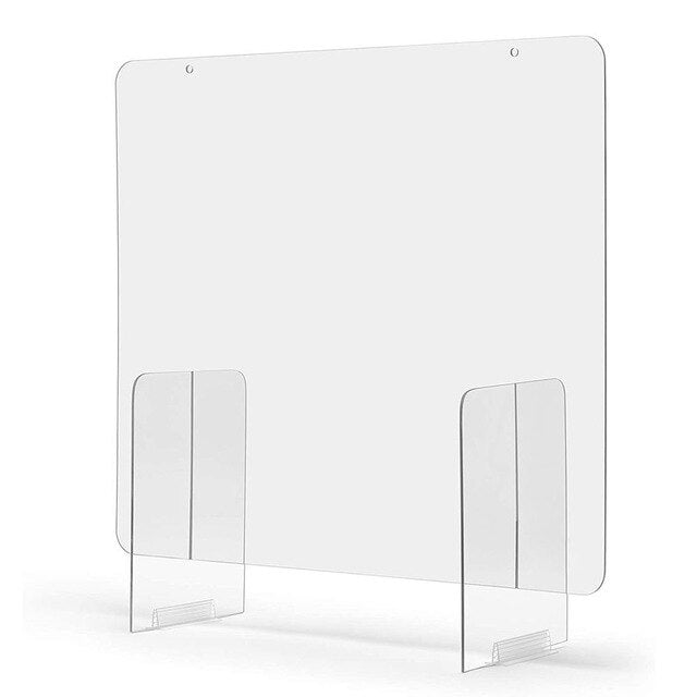 Sneeze Guard Shield Clear Perfection Reception Side Sale Counter Sprayed UV Cut Transparent Height Protection Screens