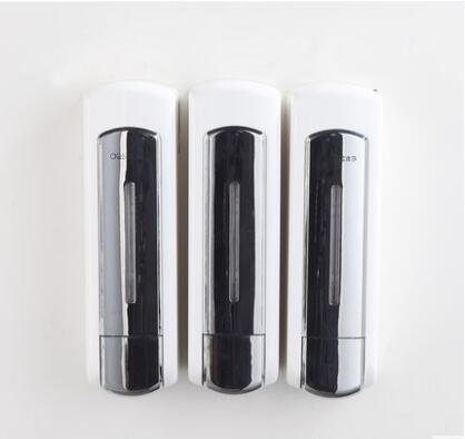 Bathroom Soap Dispenser Shower Liquid Shampoo single 350ml Wall Mounted Bathroom Shower Soap Dispenser,hotel products