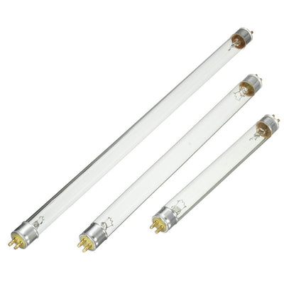 UV Light Tube Bulb Lamp Waterproof UV Light Replacement For Pond Tank Clear Germicidal Sterilizer Lamp AC220V