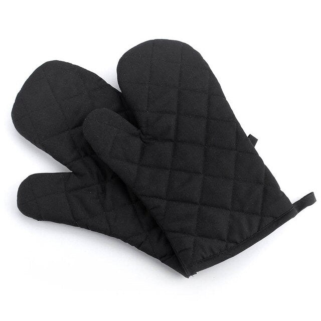 Microwave/ Oven Glove Insulated Kitchen Tool Baking Gloves Cotton Heat Resistant 1Pcs  Non-slip  Mitten