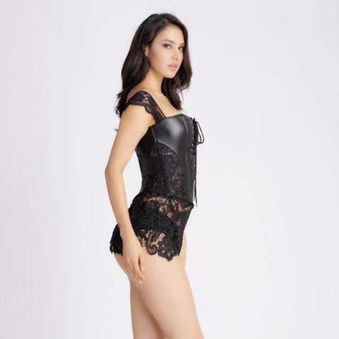 Image of Sexy Night Black Corset