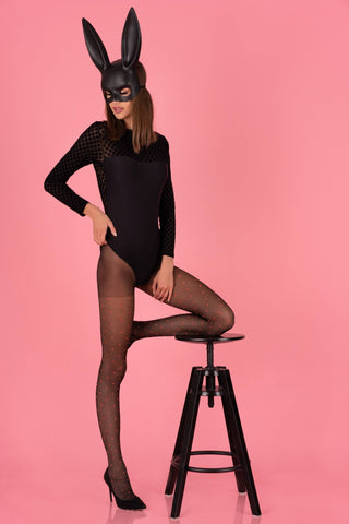 Nashmiri Black Tights