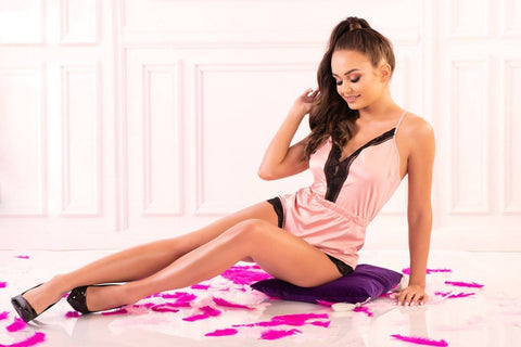Tarissam Pink Nightwear Scallo Collection