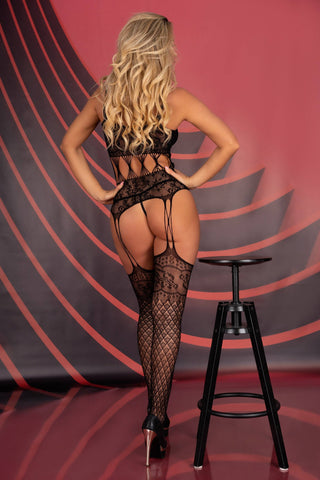 Sobren Open Bodystocking