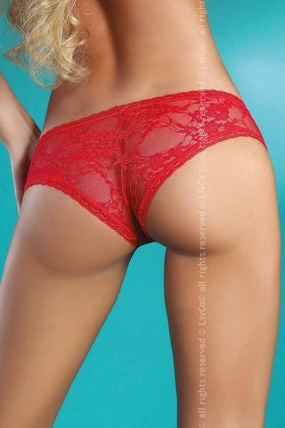 Image of Welia Red Red Briefs
