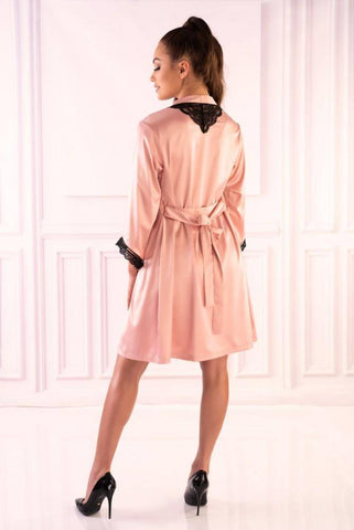 Image of Ariladyen Pink Scallo Collection Dressing Gown