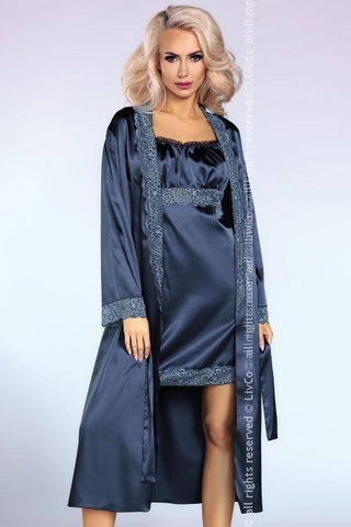 Yesenia -1 Night In Paris Collection Nightdress and Dressing Gown