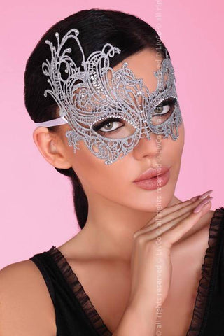 Party Mask Silver