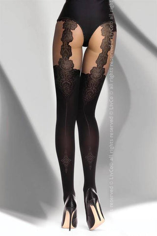 Renitana Black Tights